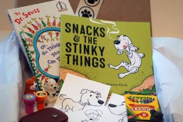 Snacks and Stinky Books