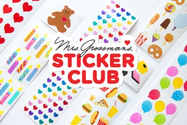 Mrs. Grossman's Sticker Club
