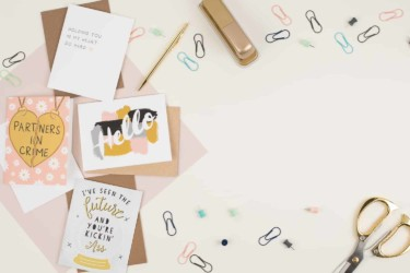 Pretty By Post Greeting Card Subscription