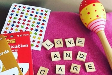 Love and Care Children's Book Crate