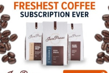Java Presse Coffee Of The Month Club