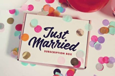 Just Married Box