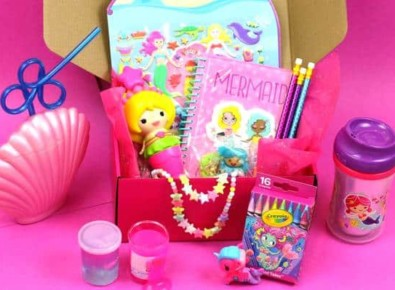 Mermaid Kid Box