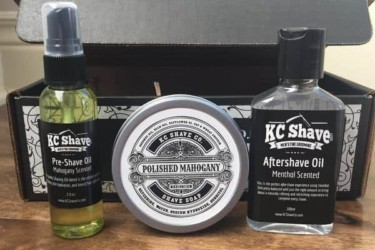 KC Shave Co. Shaving Crate