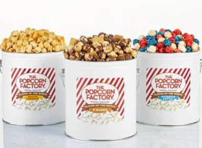 The Popcorn Factory Popcorn Lovers Flavor of the Month Club