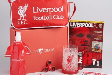 Kopcrate: Liverpool Soccer Crate