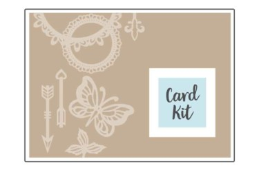 Spellbinders Card Kit of the Month