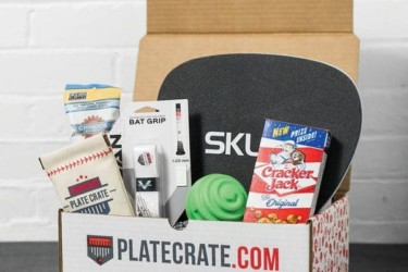 Baseball Crate by Plate Crate
