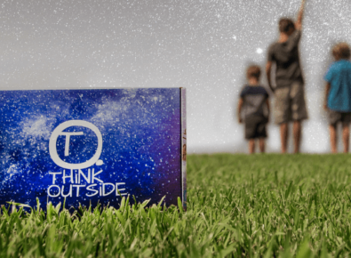 THiNK OUTSiDE BOXES
