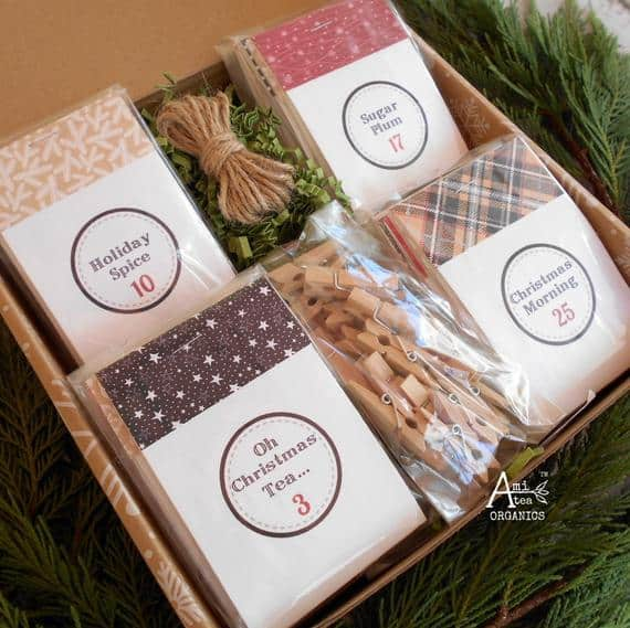Amitea Organics Tea Advent Calendar