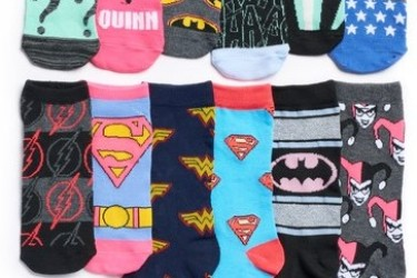 DC Socks Advent Calendar