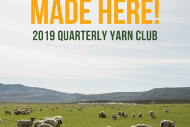 Sincere Sheep Made Here! Yarn Club