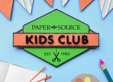 Paper Source Kids Club
