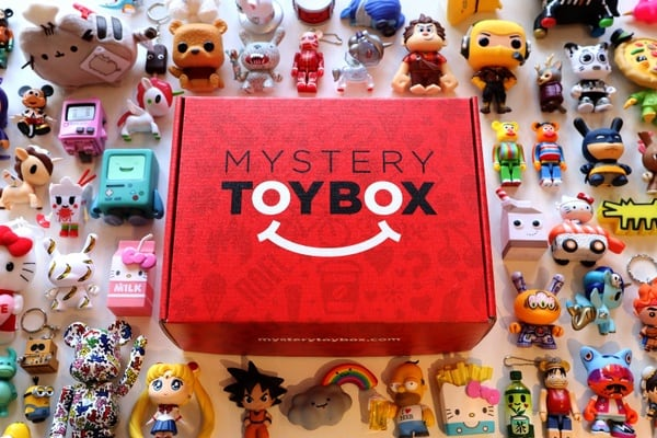 Mystery Toy Box by Mindzai