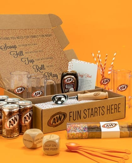 A&W Family Fun Night Kit