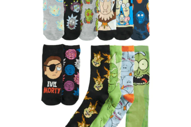 Rick & Morty Socks Advent Calendar