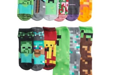 Minecraft Socks Advent Calendar