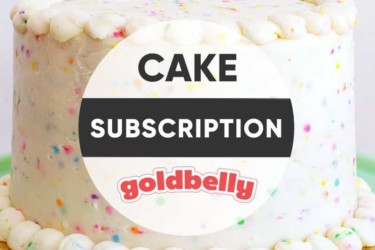 Goldbelly Cake Subscription