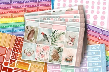 Coco and Opal Design Planner Sticker Subscription